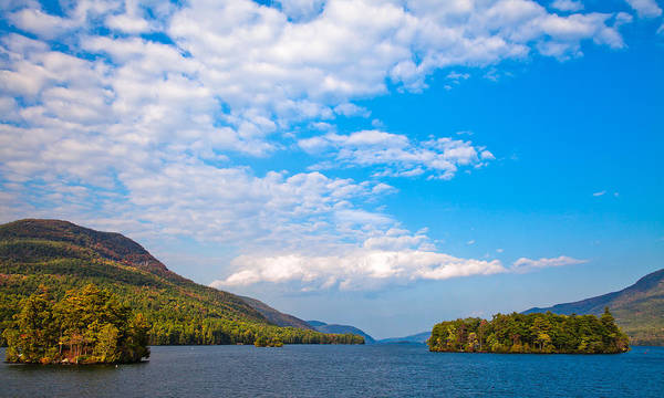 Photograph - The Beautiful Lake George New York by David Patterson