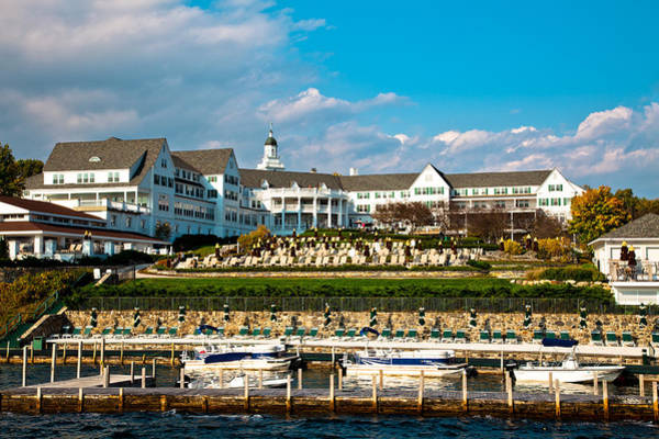 Photograph - The Beautiful Sagamore Hotel On Lake George II by David Patterson