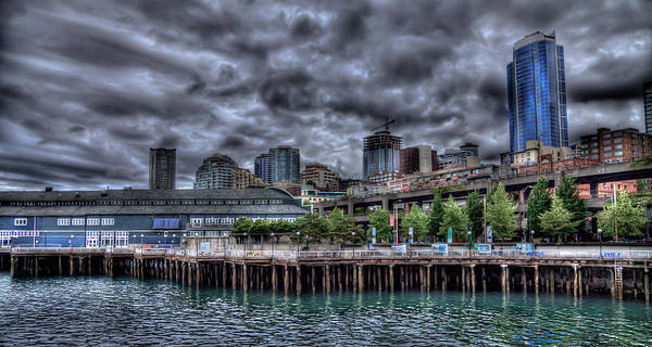 Photograph - The Beautiful Seattle Waterfront by David Patterson