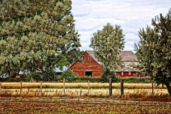 Bonneville County Photograph - The Beauty Of A Farm by Image Takers Photography LLC - Laura Morgan