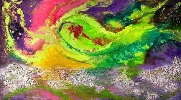 The Beauty Of Aurora Art Print