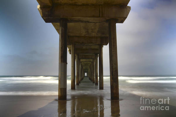 Scripps Pier Photograph - The Beauty Of Scripps Pier California by Bob Christopher