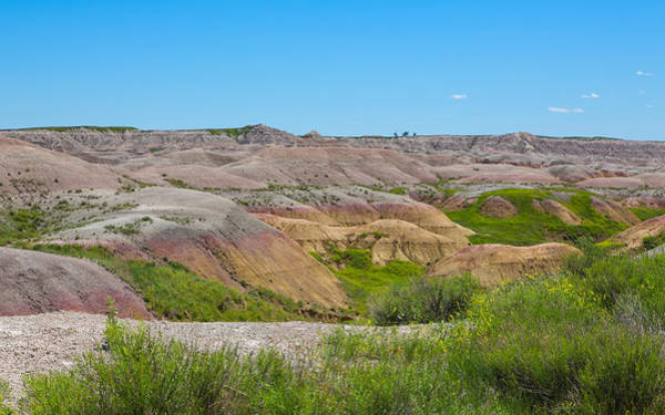 Photograph - The Beauty Of The Badlands by John M Bailey