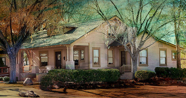 Photograph - The Beckley House by Gunter Nezhoda