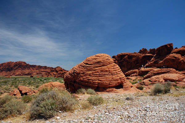 515p The Beehive In Valley Of Fire Art Print