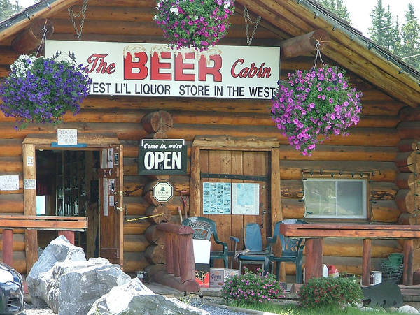 Photograph - The Beer Cabin by Philip Rispin