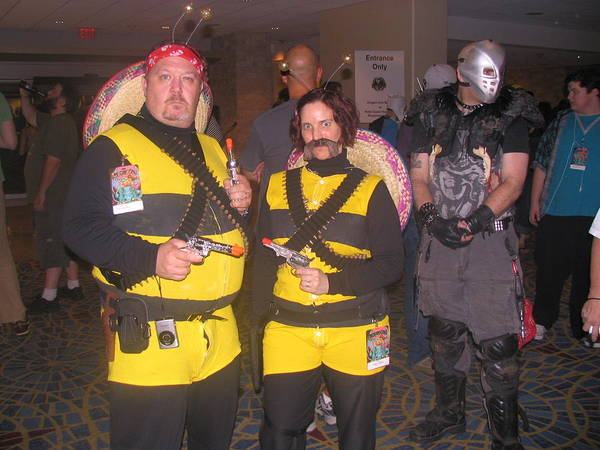 Cosplay Photograph - The Bees by Jim Williams