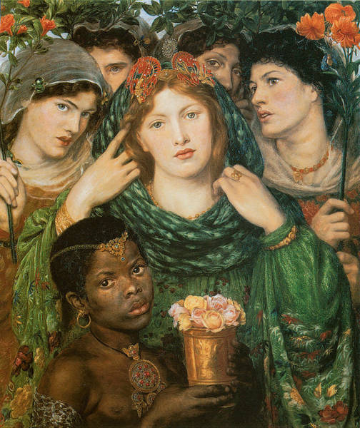 Gabriel Painting - The Beloved-the Bride by Dante Gabriel Rossetti