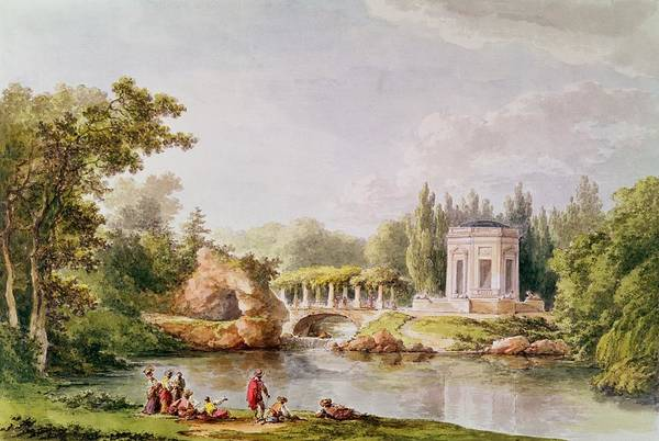 Versailles Wall Art - Photograph - The Belvedere, Petit Trianon Wc by Anonymous