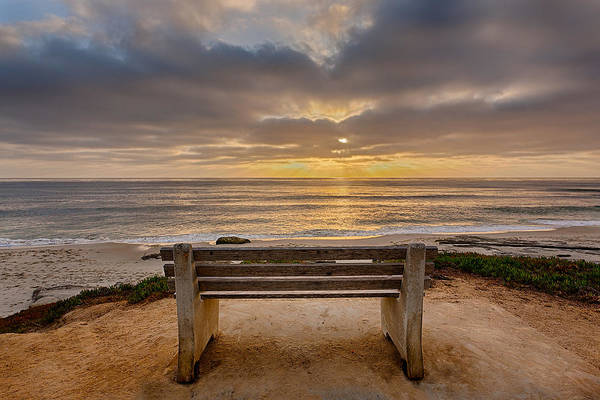 Park Bench Photograph - The Bench Iv by Peter Tellone