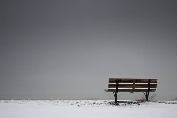 Photograph - The Bench by Josh Eral