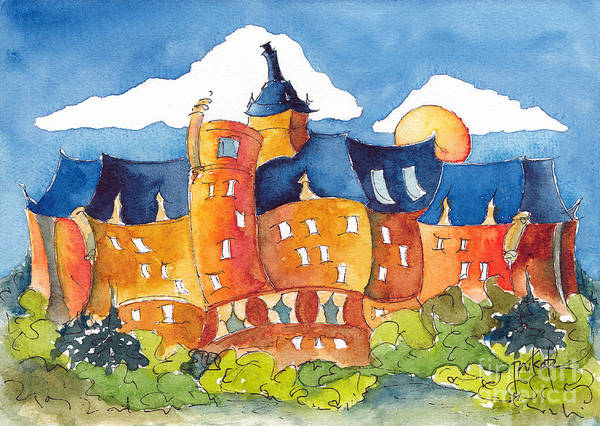 Painting - The Bess - A Grand Old Dame by Pat Katz