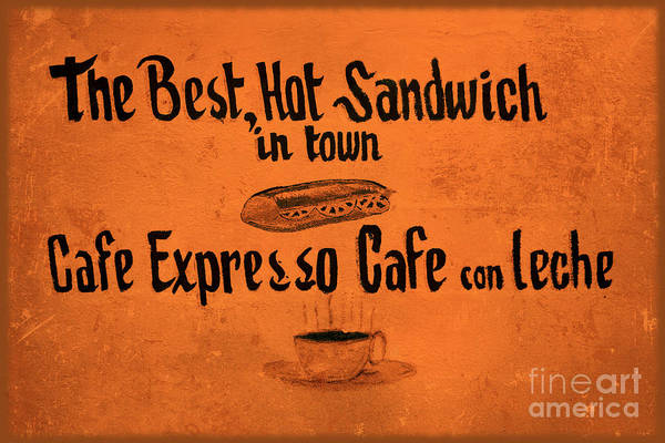 Wall Art - Photograph - The Best Hot Sandwich In Town by Sophie Vigneault