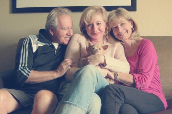 Family Portrait Wall Art - Photograph - The Best by Laurie Search