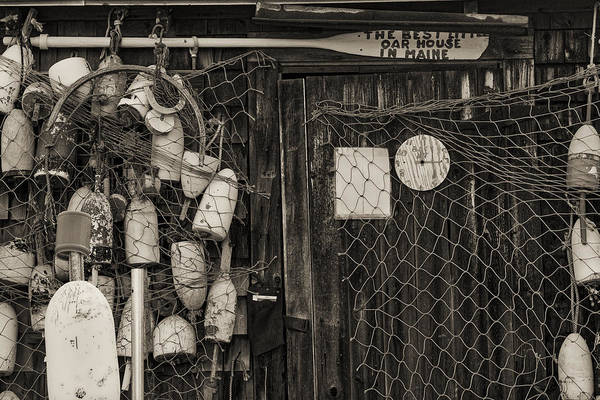 Photograph - The Best Little Oar House In Maine by Steven Ralser