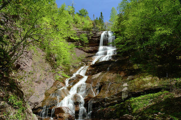 Cabot Trail Photograph - The Beulach Ban Waterfalls On The North by Darlyne A. Murawski
