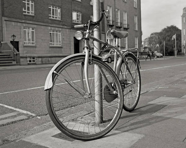 Wall Art - Photograph - The Bicycle Dublin Ireland by Betsy Knapp
