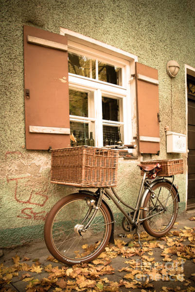 Photograph - The Bicycle by Hannes Cmarits