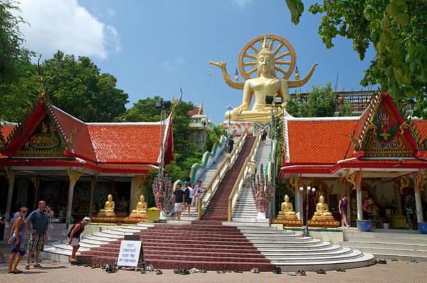 The Big Buddha Temple And Landmark Art Print