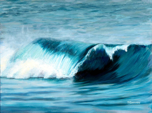 Painting - The Big Curl by Mary Giacomini