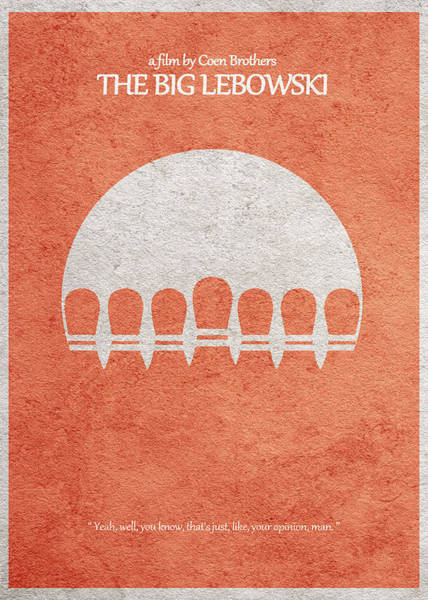 Bowling Ball Wall Art - Photograph - The Big Lebowski by Inspirowl Design