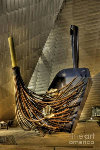 Denver Art Museum Photograph - The Big Sweep In Hdr by David Bearden