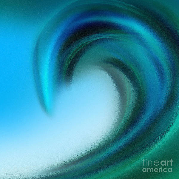 Digital Art - The Big Wave Of Hawaii 6 by Andee Design