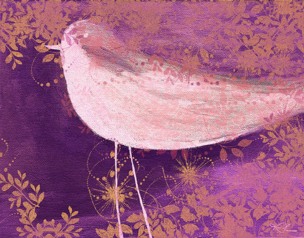 Twirl Painting - The Bird - 100-01b by Variance Collections