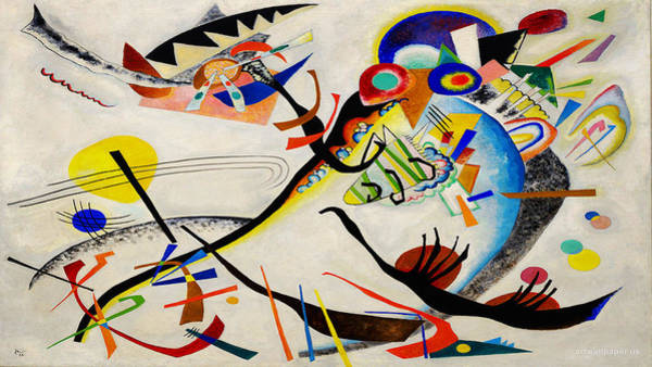 Wall Art - Painting - The Bird by Wassily Kandinsky