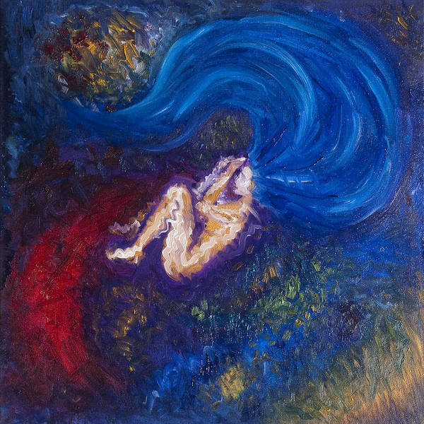 Initiation Painting - The Birth Of Sora by Sora Neva