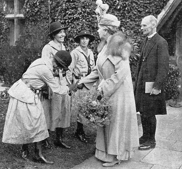 1924 Drawing - The Bishop Of Lewes Introduces  Three by Mary Evans Picture Library