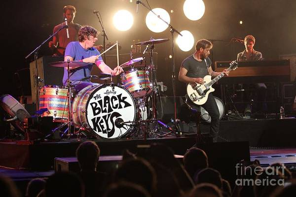 Indie Wall Art - Photograph - The Black Keys by Concert Photos