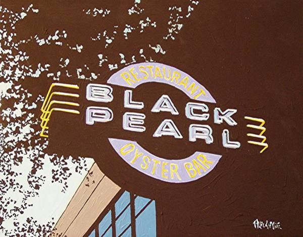 The Black Pearl In Midtown Art Print by Paul Guyer