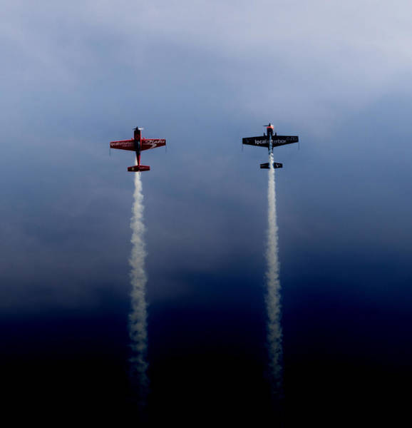 Photograph - The Blades Going Up Sunderland Air Show 2014 by Scott Lyons