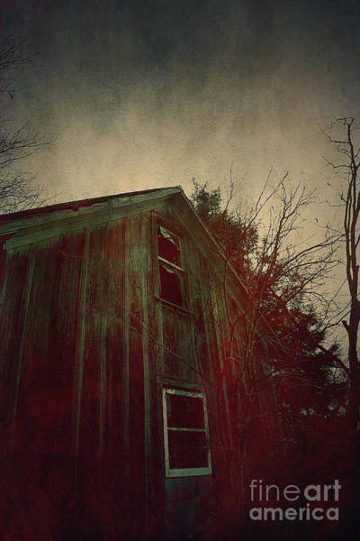 Wall Art - Photograph - The Bleeding House by Trish Mistric