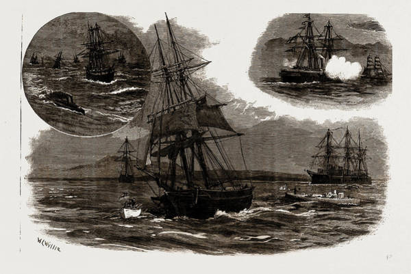 Prepare Drawing - The Blockade Of The Greek Ports In The Gulf Of Athens by Litz Collection