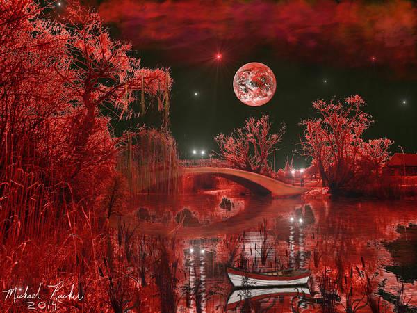 Wall Art - Photograph - The Blood Moon by Michael Rucker