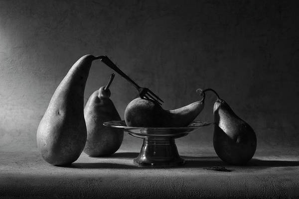 Fruit Still Life Photograph - The Bloody Sacrifice by Victoria Ivanova