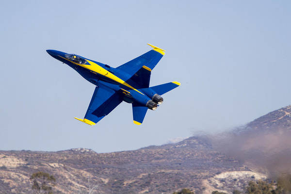The Blue Angels In Action 4 Art Print