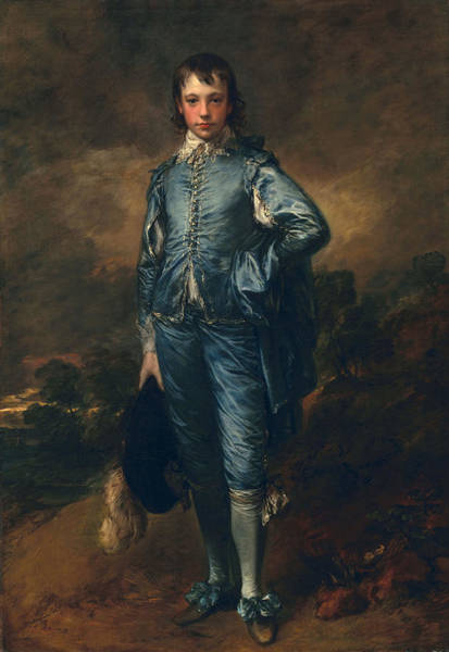 Blue Dress Painting - The Blue Boy, C.1770 by Thomas Gainsborough