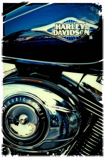 Photograph - The Blue Chopper by David Patterson