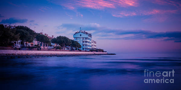 Photograph - the blue hour - Grado by Hannes Cmarits
