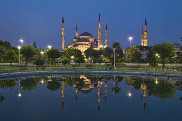 Wall Art - Photograph - The Blue Mosque In Istanbul by Ayhan Altun