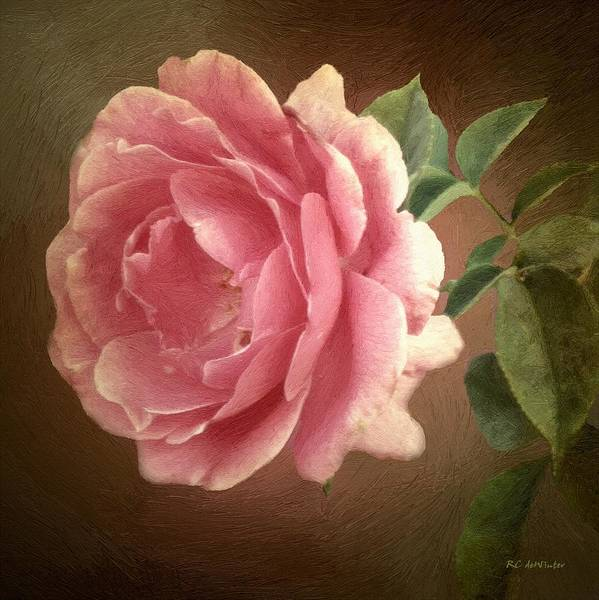 Painting - The Blush Of Innocence by RC DeWinter