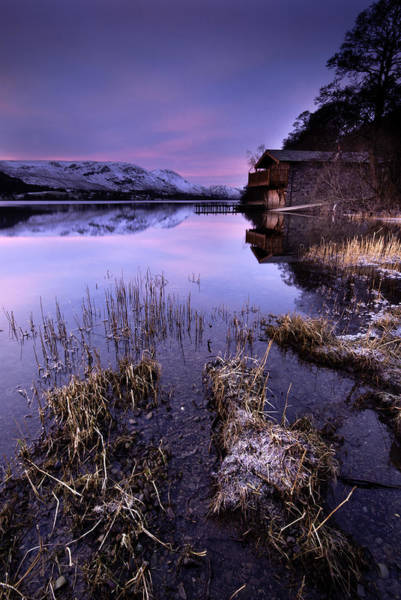 Pooley Bridge Wall Art - Photograph - The Boat House Ullswater by Dave Hudspeth