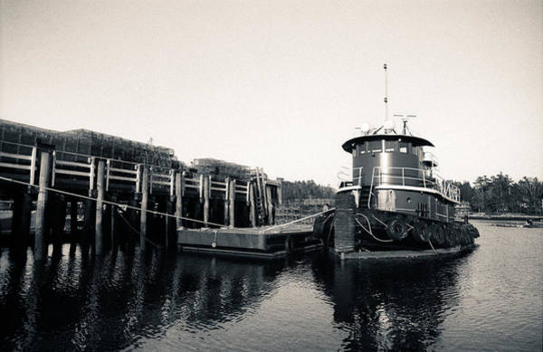 Lobstering Photograph - The Boat That Tugs by Will Gunadi