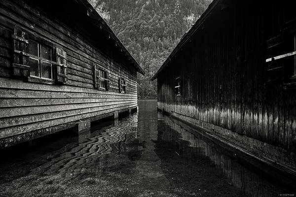 Photograph - The Boathouse by Ryan Wyckoff