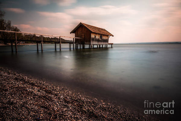 Photograph - The Boats House by Hannes Cmarits