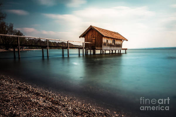 Photograph - The Boats House II by Hannes Cmarits