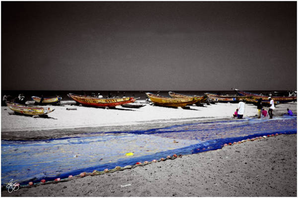 Photograph - The Boats Of Kayar by Wayne King